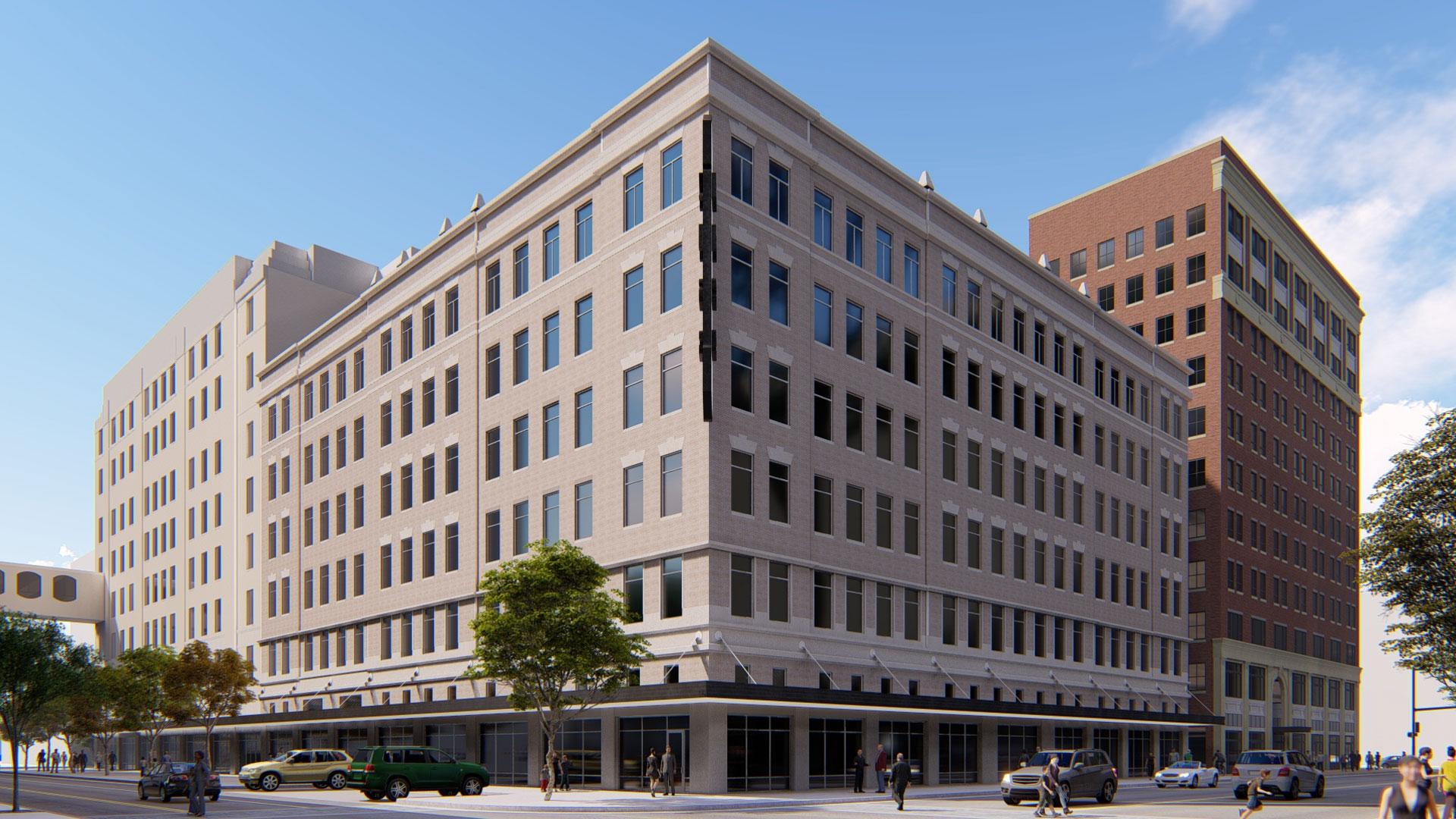 KHSC building render