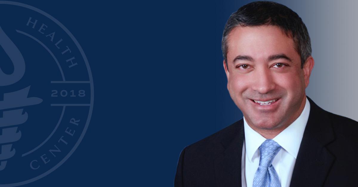Headshot of Associate Dean David J. Ninan, DO, FAOCA, CPE